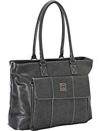 Womens Business Computer Tote for Computer Up To 16 - Charcoal