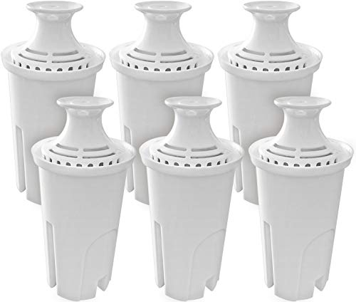 Fette Filter - Water Filters Compatible with Brita. Standard Replacement Water Filter for Pitchers, 6 Count