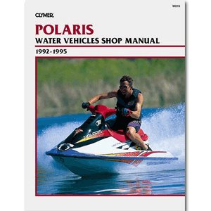 CLYMER POLARIS PERSONAL WATERCRAFT 1992-1995 ''Prod. Type: Boat Outfitting'' by OEM