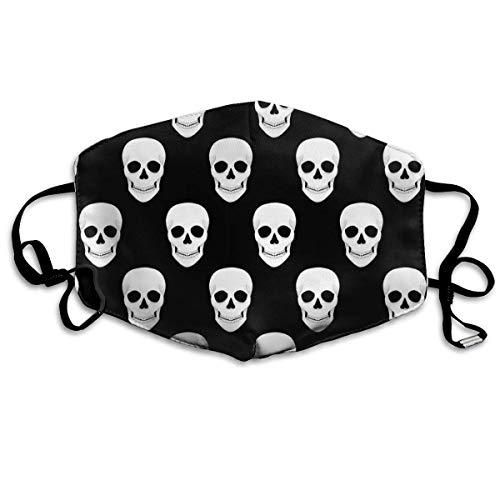 lu fangfangc Halloween Holiday Skull Motorcycle Face Masks Unisex All Members Mask Mask -