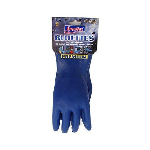Bluettes Knit Rubber Glove - Gloves Spontex Bluette