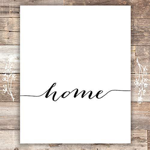 Home Sweet Home - Wall Decor Art Prints (Set of 3) - Unframed - 8x10s 2