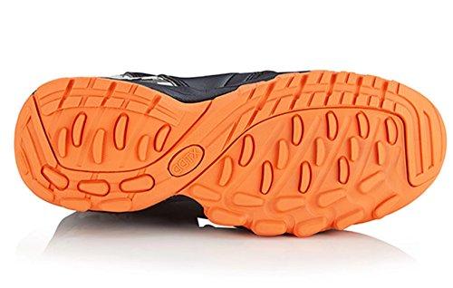 DDTX Mens Composite Toe Work Boots Slip Resistant Ankle High Safety Shoes Black pib3y