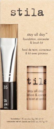 stila Stay All Day Foundation, Concealer & Brush Kit, Beige