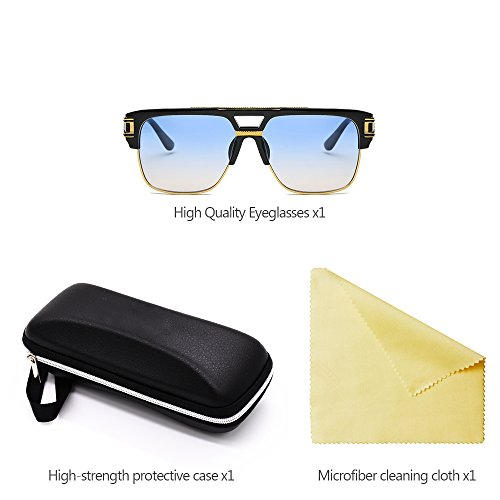 ZEVONDA aire para de Estilo 06 al de libre Hombre de sol la UV400 Mujeres Unisex Moda Gafas las Vendimia rw0TxqXrP