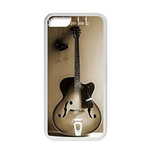XiFu*MeiWelcome!iphone 5/5s Cases-Brand New Design Music Guitar Printed High Quality TPU For iphone 5/5s 4 Inch -06XiFu*Mei