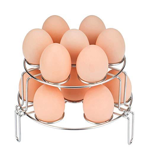 Multipurpose Egg Steamer Rack, TUSOA Stackable Egg Steamer R