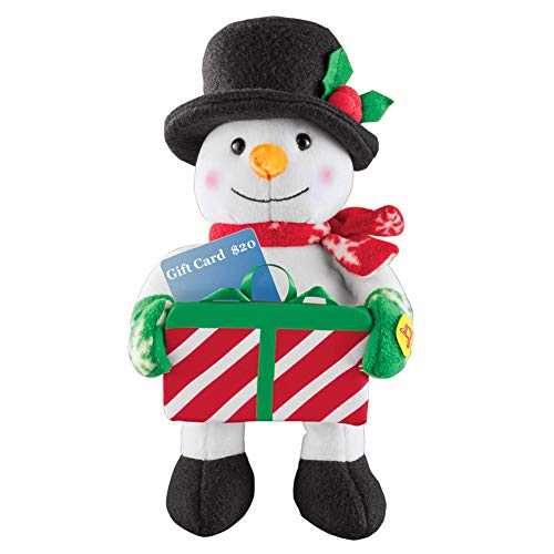 Collections Etc Festive Musical Holiday Card and Cash Holder - Plays We Wish You A Merry Christmas