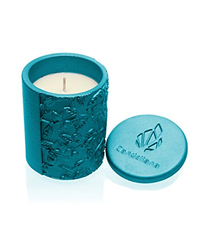 Orient Vanilla Marine Blue Tranquility Scent Candellana Candles Candlefort Concrete Candle
