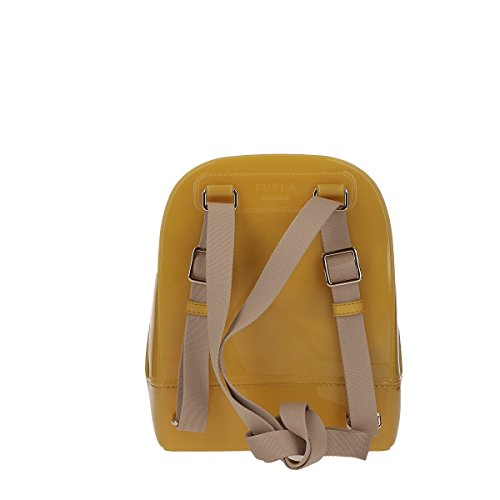Furla Candy Mini Backpack mustard