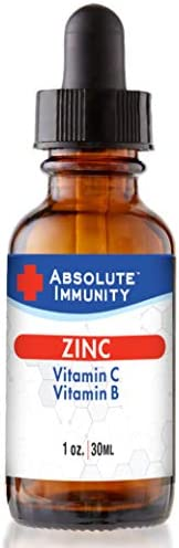 Absolute Immunity – ZINC Liquid Concentrate with Vitamin C, Vitamin B Supports Your Body s Natural Defenses
