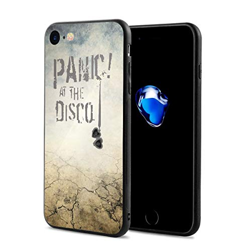 Panic at The Disco iPhone 7 Case, iPhone 8 Case Slim Protection Scratch Resistant Hard Back Cover Shock Absorbent TPU Bumper Case for Apple iPhone for $<!--$10.25-->