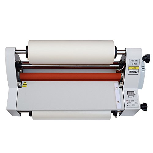 BMGIANT NEW Laminator Four Rollers Roll Laminating Machine 220V model V350 (Roll Laminating Machine)
