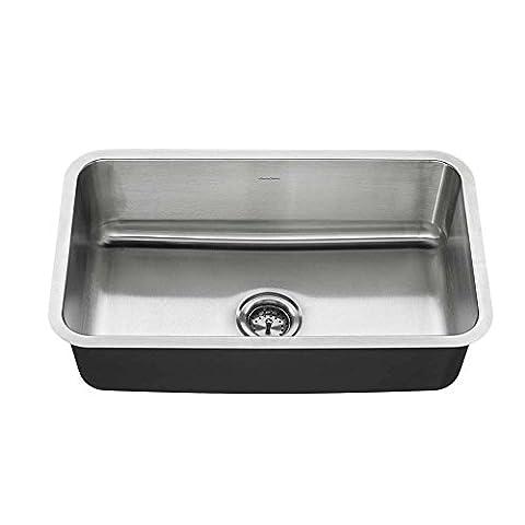 American Standard 18SB.9301800T.075 Undermount 30x18 single Sink, Stainless Steel - American Standard Console