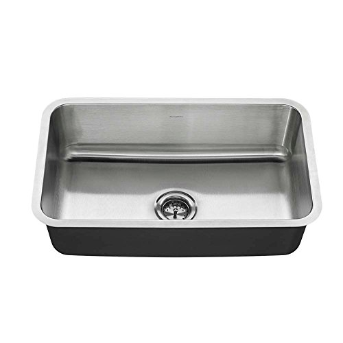 American Standard 18SB.9301800T.075 Undermount 30x18 single Sink, Stainless Steel by American Standard
