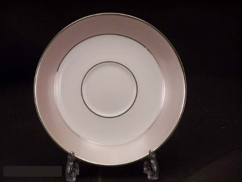 (Lenox Federal Platinum Frost Saucers)