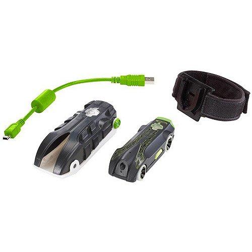 Hot Wheels - W6722 - Véhicule Miniature - Hot Wheels Vidéo Racer - noir et vert