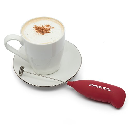 Electric-Milk-Frother-Kuissential-Slickfroth-20-Handheld-Cappuccino-Latte-and-Coffee-Maker