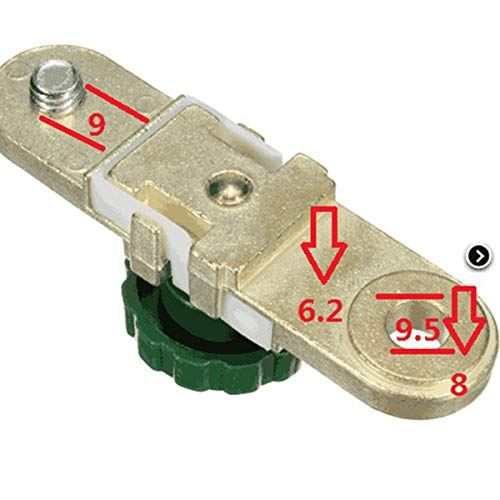 Alftek Seite Mount Auto Batterie Messing Terminal Master Disconnect Kill Cut Off Schalter