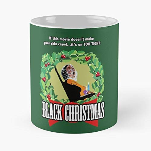 Black Christmas Horror Movie Slasher - 11 Ounce For Coffee, Tea, Cocoa And Mulled Drinks, The Best Gift Holidays. ()