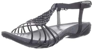 Jambu Womens 'Chatham' Sandal Shoe, Black, US 12