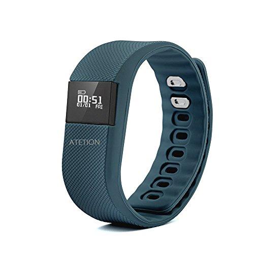ATETION Bluetooth Bracelet Wireless Pedometer product image