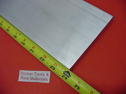 1/4'' X 6'' Aluminum 6061 T6511 Solid Flat BAR 24'' Long Plate Mill Stock .25''x 6.0