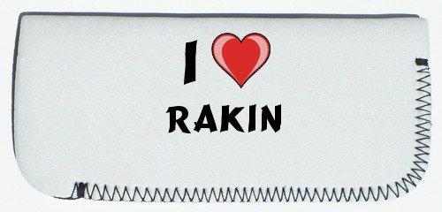 Glasses Case with I Love Rakin (first name/surname/nickname) SHOPZEUS