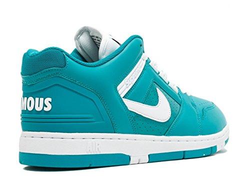 Nike Sb Af2 Scarpe Da Ginnastica Basse Supreme Da Uomo Aa0871 Scarpe Da Tennis Nuove Smeraldi / Bianco-nuovo Smeraldi