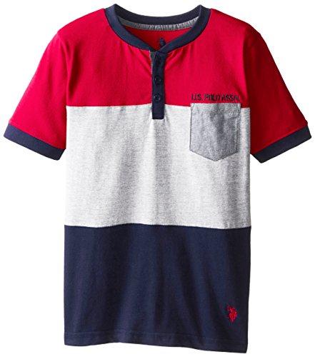 us-polo-assn-big-boys-short-sleeve-henley-engine-red-10-12
