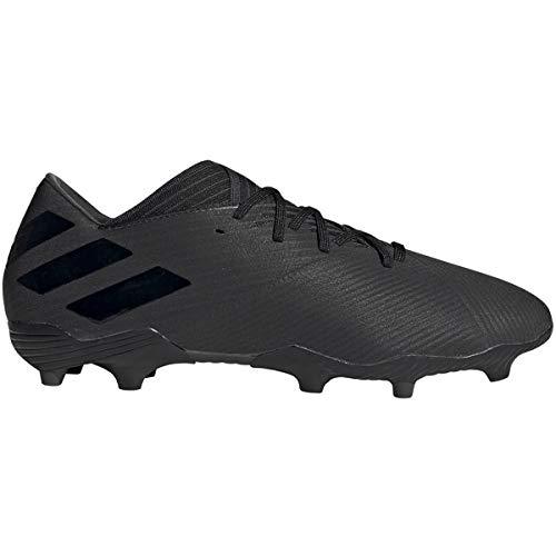 adidas Men's Nemeziz 19.2 Firm Ground Soccer Shoe, Utility Black, 7 M -
