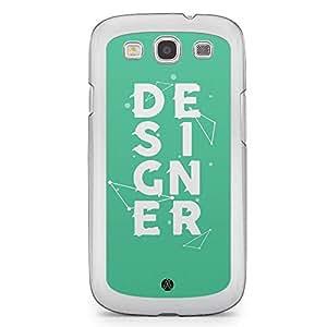 Designer Samsung Galaxy S3 Transparent Edge Case - Designer