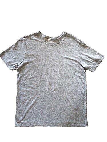 Nike Mens Just Do It T-Shirt Grey AO4444 063 (l)