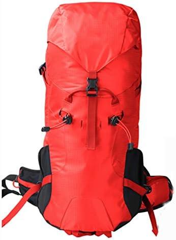 30Lアウトドアスポーツハイキングバックパック、 ポリエステル生地、 ロッククライミング/観光、 男性と女性,Red