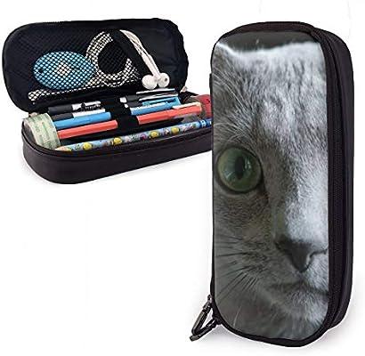 Whimsical - Estuche para lápices de niños y niñas con diseño de gato para estudiantes, universidades, suministros escolares y oficina: Amazon.es: Oficina y papelería