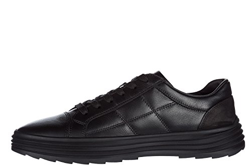 in Pelle Hogan Sneakers Nero h341 Nuove Uomo Scarpe q8wpn76ft