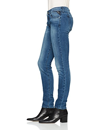 Femme Bleu Rose Replay 9 Blue Slim Mid Jean CwpZ8q