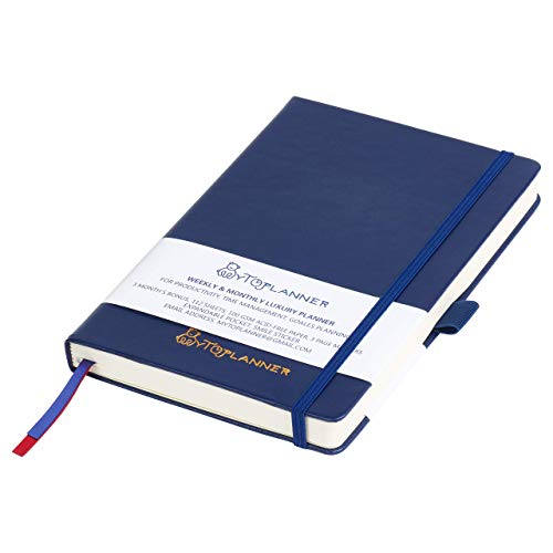 (Calendar Planner, Undated Daily & Weekly Agenda, Be Productive 15 Months, 224 Pages, A5 Premium, Thicker Paper, Inner Strong Pocket, Stickers & eBook Included.)