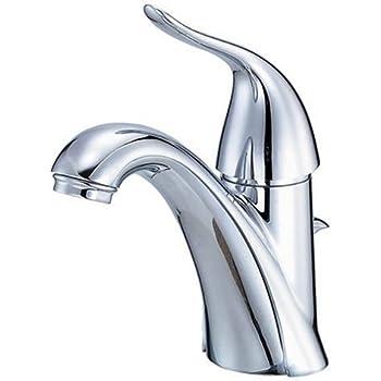 Danze D223121 Antioch Single Handle Lavatory Faucet Chrome Touch On Bathroom Sink Faucets