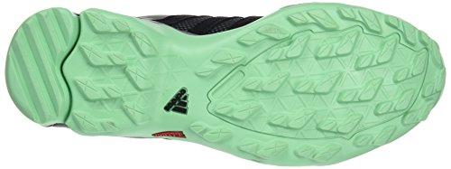 adidas Damen Ax2 W Turnschuhe, Schwarz Grau / Schwarz / Grün (Grivis / Negbas / Briver)