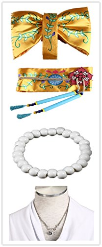 Love Anime Square FF10 Cosplay Costume 15Pcs Set by Love Cosplay (Image #3)