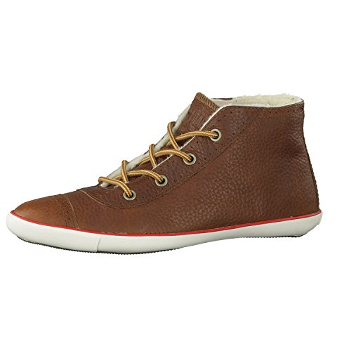 Converse Women All Star Light Brogue Mid Braun / 525871 Farbe: Dark Brown