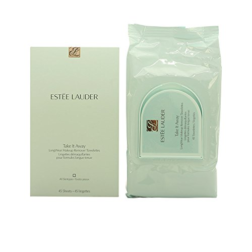 Estee Lauder Take It Away Makeup Remover Towelettes for Unisex, 45 Count
