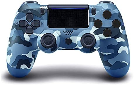 ADHLEK PS4 Wireless Controller,with Dual Vibration Camo Game Joystick,Compatible with Playstation 4/Slim/Pro Console,with Charging Cable