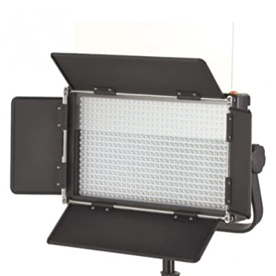 ILED 576A Daylight LED Video Light Panel with V-Mount Plate and LCD Touch Screen by Iled