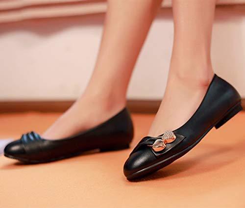 Travail Rond Ballet Dolly 2 08 Black Pompes Femmes Seraph Bout De Plat ZwvXqnI