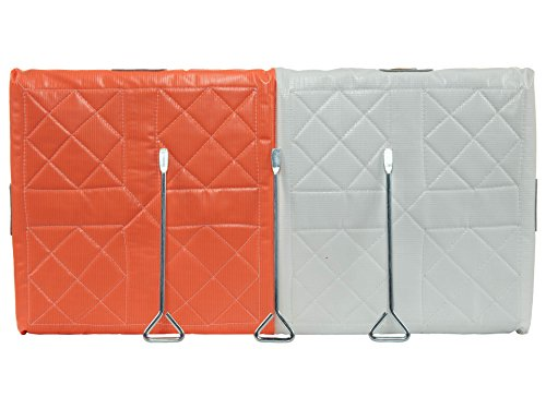 Martin Sports Double First Base 28 X 14 X 2 Not Applicable Orange/White uZRQjY