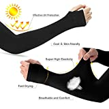 GMAYOO UV Protection Cooling Arm Sleeves Men Women, Sun...