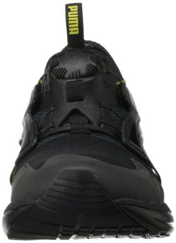Puma Framtida Skiva Lite Stealth Rfl Slip-on Sneaker Svart / Grön Glans