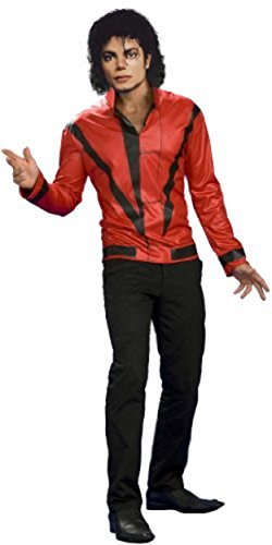 Michael Jackson Red Thriller Jacket, Adult Large Costume